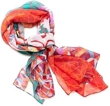 7ea72ce3e2f Desigual - annelise - foulard - imprimé - femme  Amazon.fr ...
