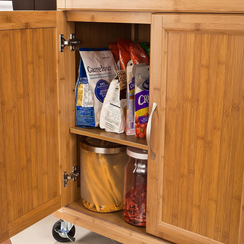 SoBuy - Carrito de servicio, estantería de cocina, carrito multiusos, IT