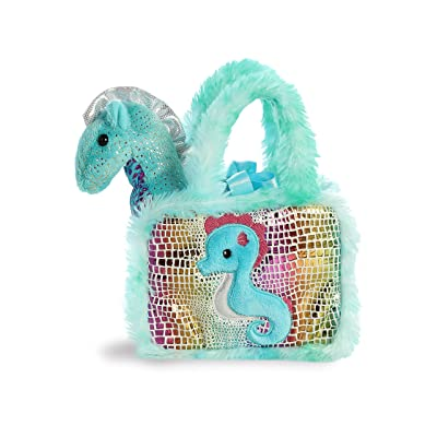 "Aurora - Pet Carrier - 7"" Fancy Pals Seahorse: Toys & Games"