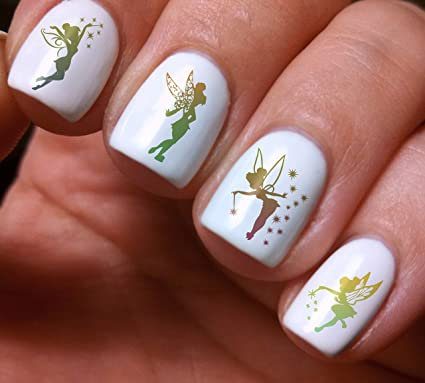 Nail Art Decals Set 3d Diy Little Fairy Original Beauty Fashion