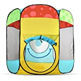 Toydaloo Indoor/Outdoor Ball Pit Play Tent, Easy Fold - Zip Flat with Carrying Bag