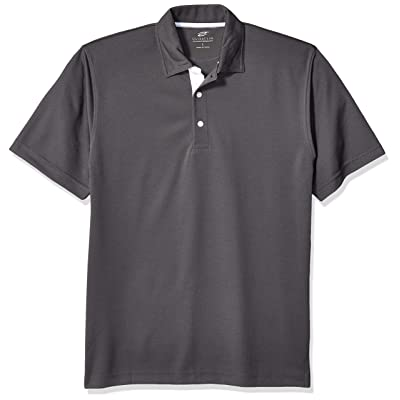 AquaGuard Men's Platinum Performance Birdseye Polo with Tempcontrol Technology at Men's Clothing store