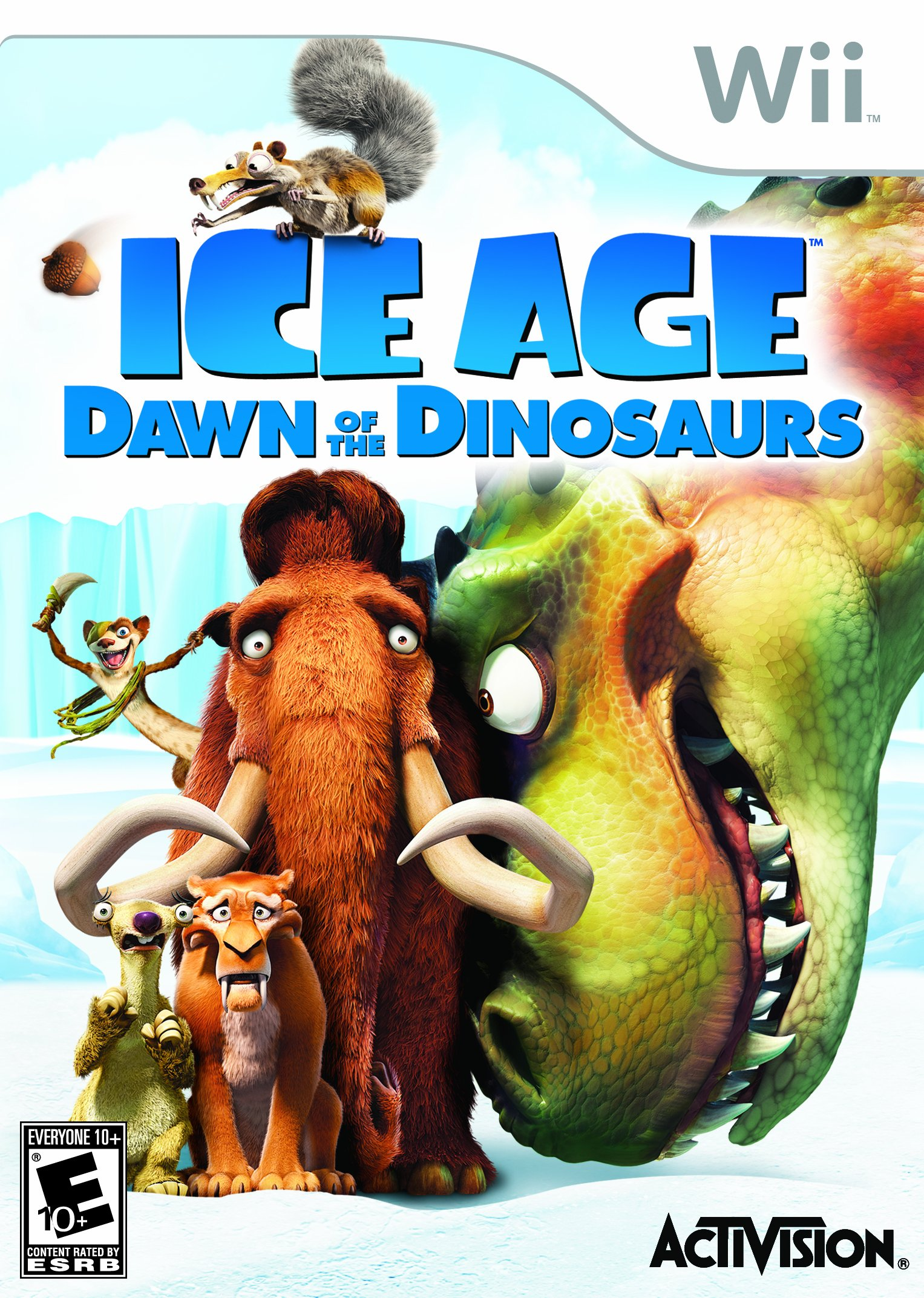Ice Age: Dawn of the Dinosaurs - Nintendo Wii