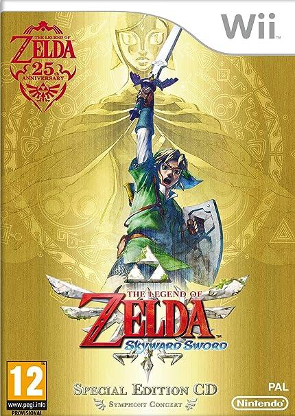The Legend of Zelda Skyward Sword Special AT PEGI Wii [Importación alemana]: Amazon.es: Videojuegos