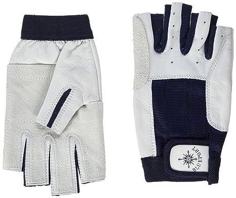 Blueport Segelhandschuhe aus Leder Handschuhe Segeln robust Bootsport 2 Finger frei