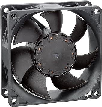 Ventiladores – Axial – Ventilador axial 80 mm 12 VDC 68,8 CFM 50dba – 8452/2h4p: Amazon.es: Electrónica