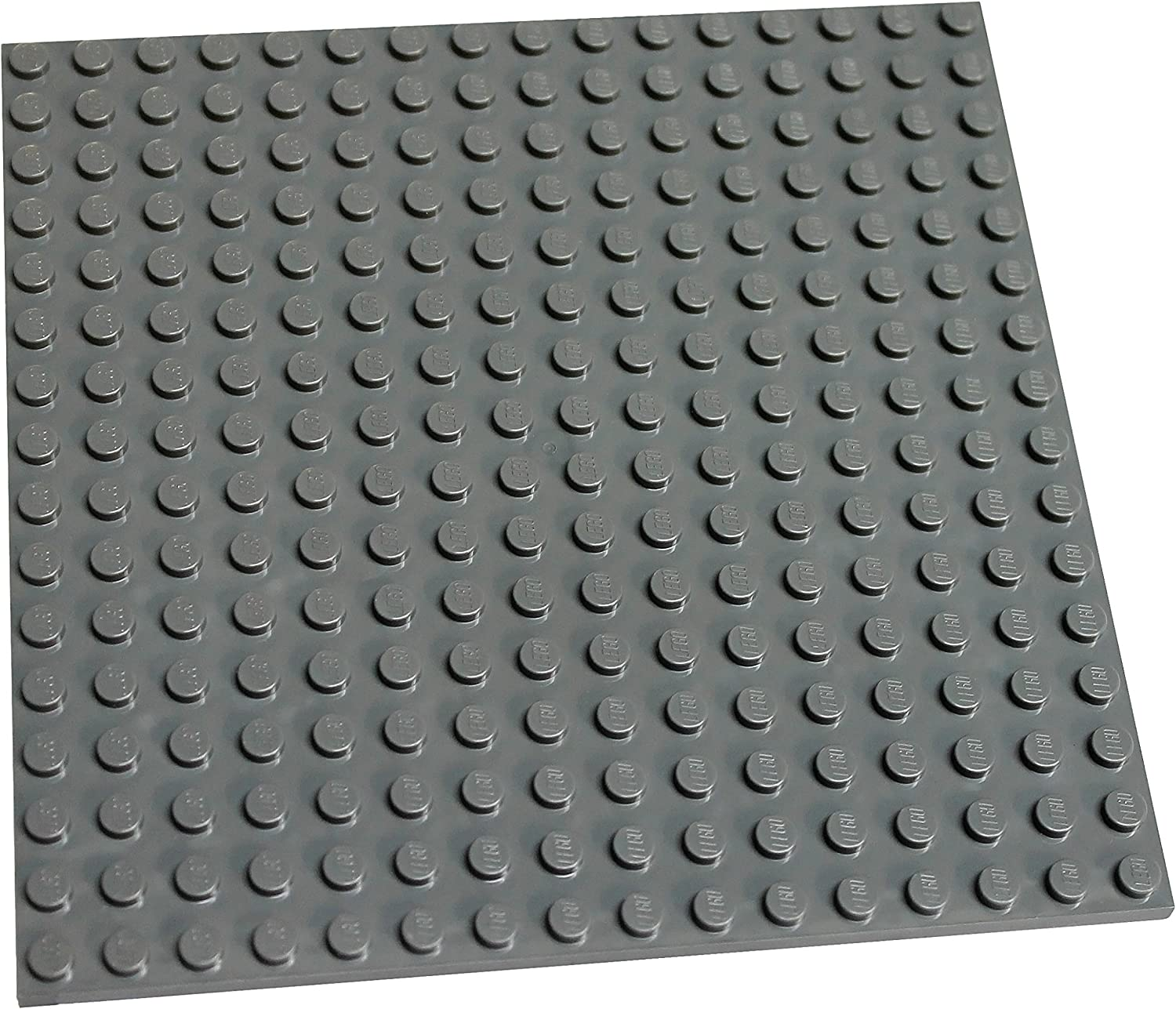 "LEGO Parts and Pieces: Dark Gray (Dark Stone Grey) 16x16 (4.8""x4.8"") Plate x1"
