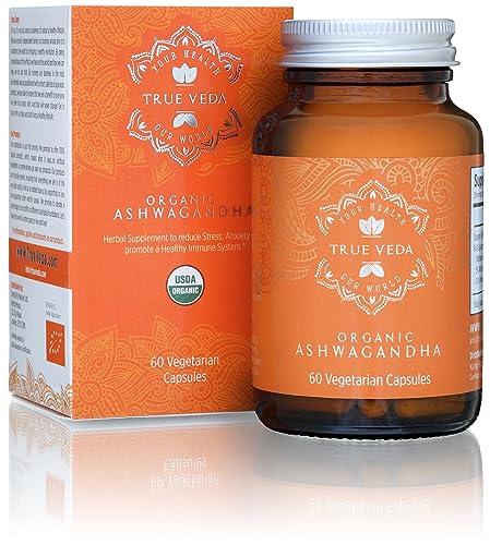 Organic Ashwagandha Vegetarian Capsules