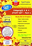 STUDY SET - PART 1 : Category(s) 3 & 4 - Prepare for MARRS Spelling Bee championship across levels .... For pre purchase queries whatsapp 9820354672
