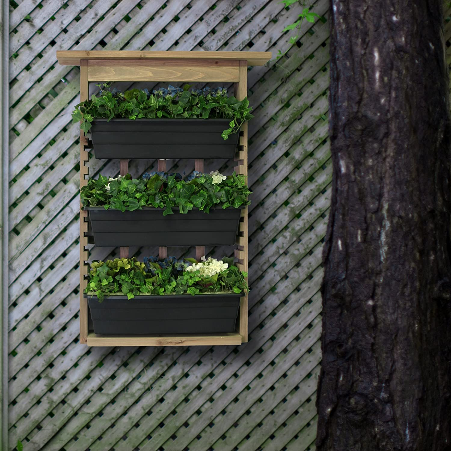 Vertical Living Wall Planter