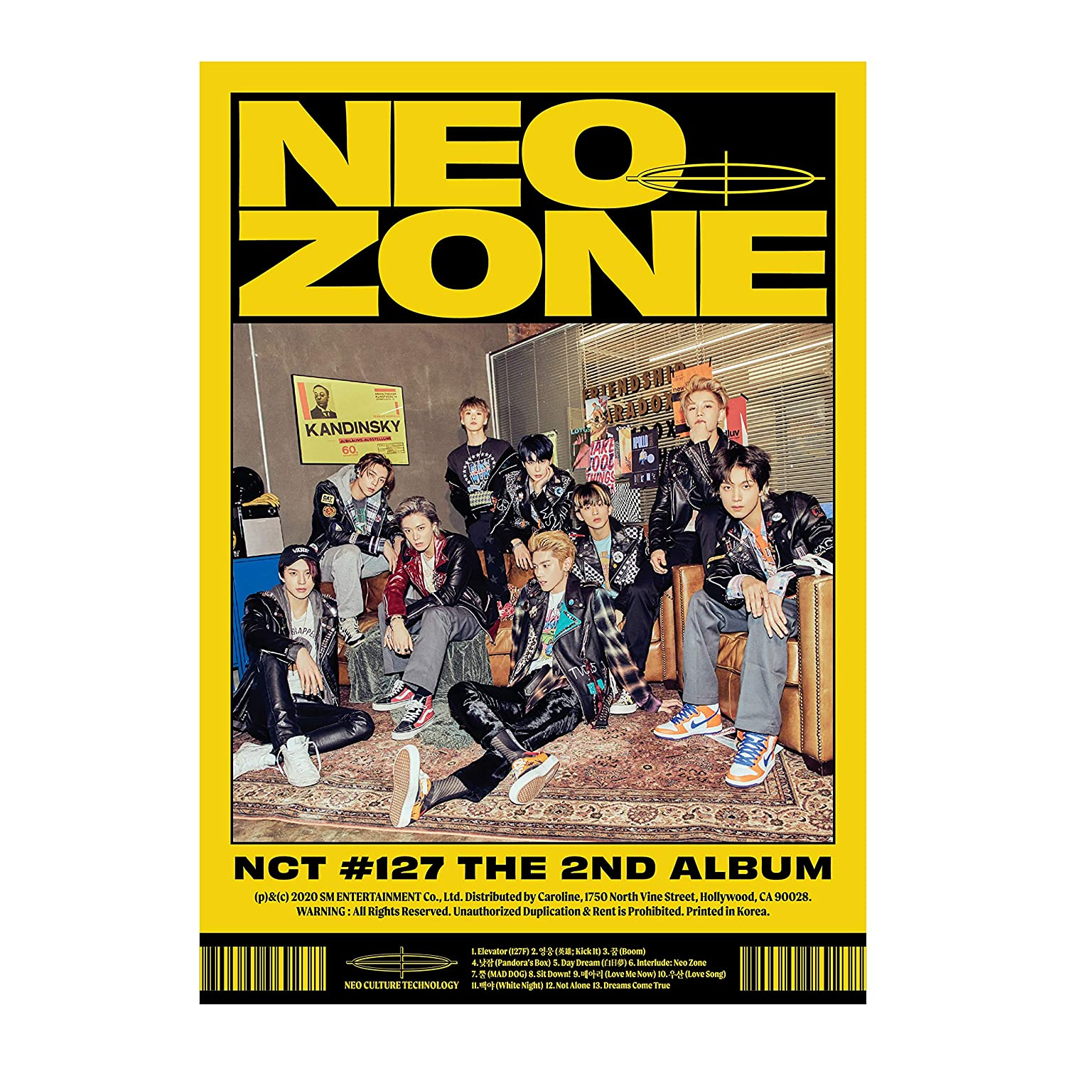 cd: The 2nd Album NCT #127 Neo Zone [N Ver.]