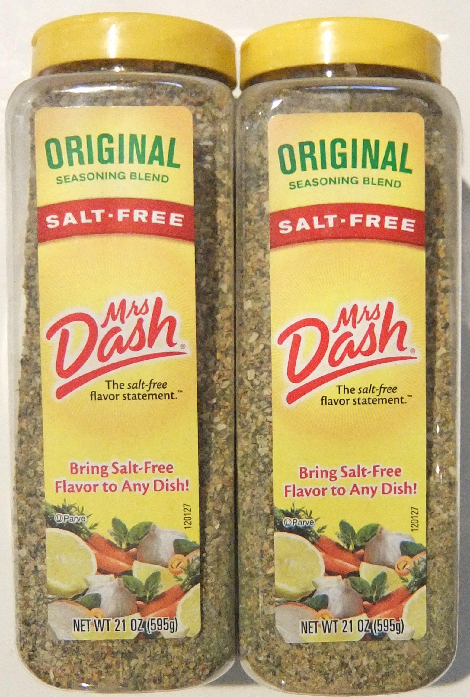Mrs. Dash Original Salt Free Blend, 21 ounce (Pack of 2)