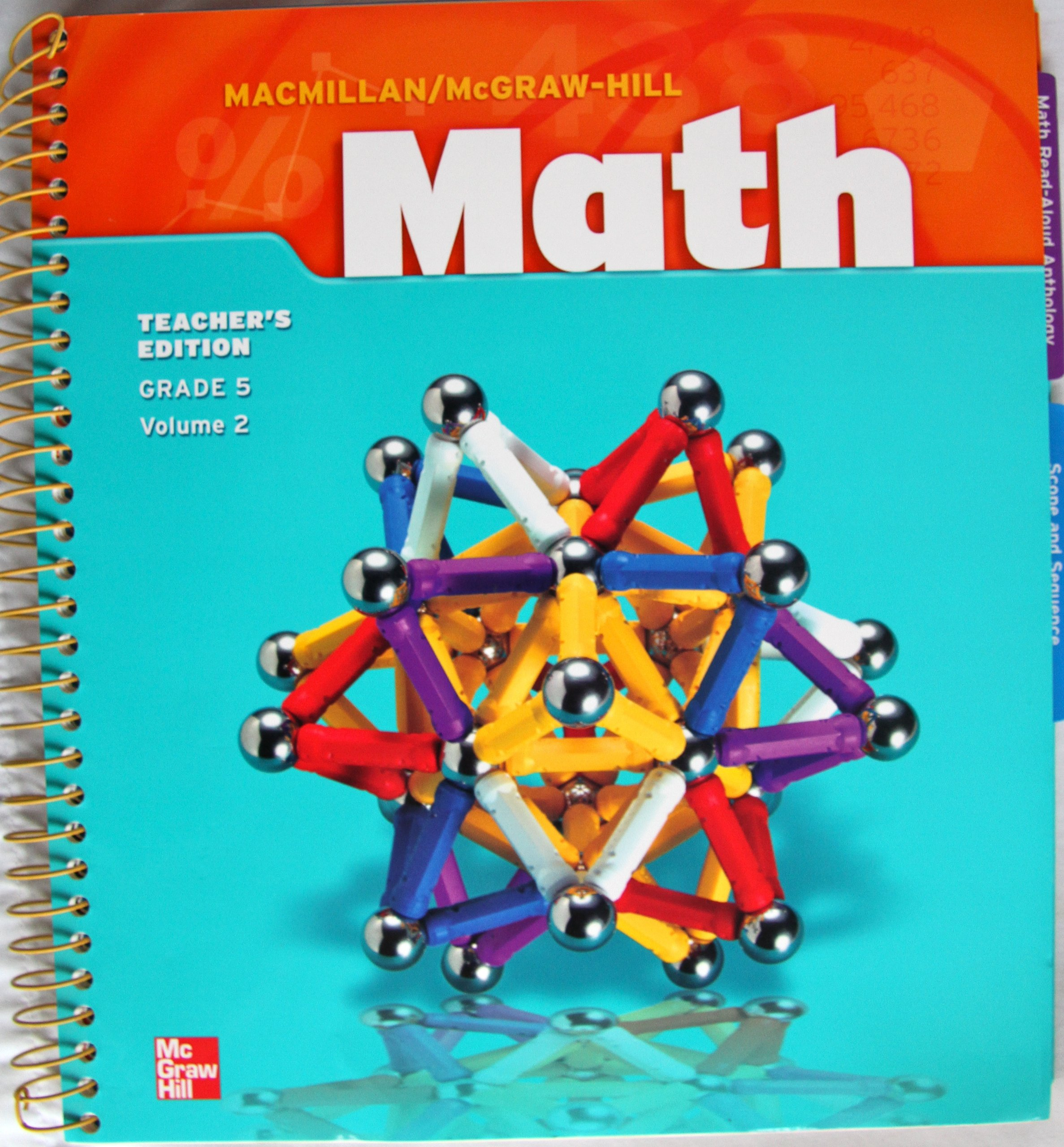 MacMillan/McGraw-Hill Math Teacher\'s Edition Grade 5 Volume 2 ...