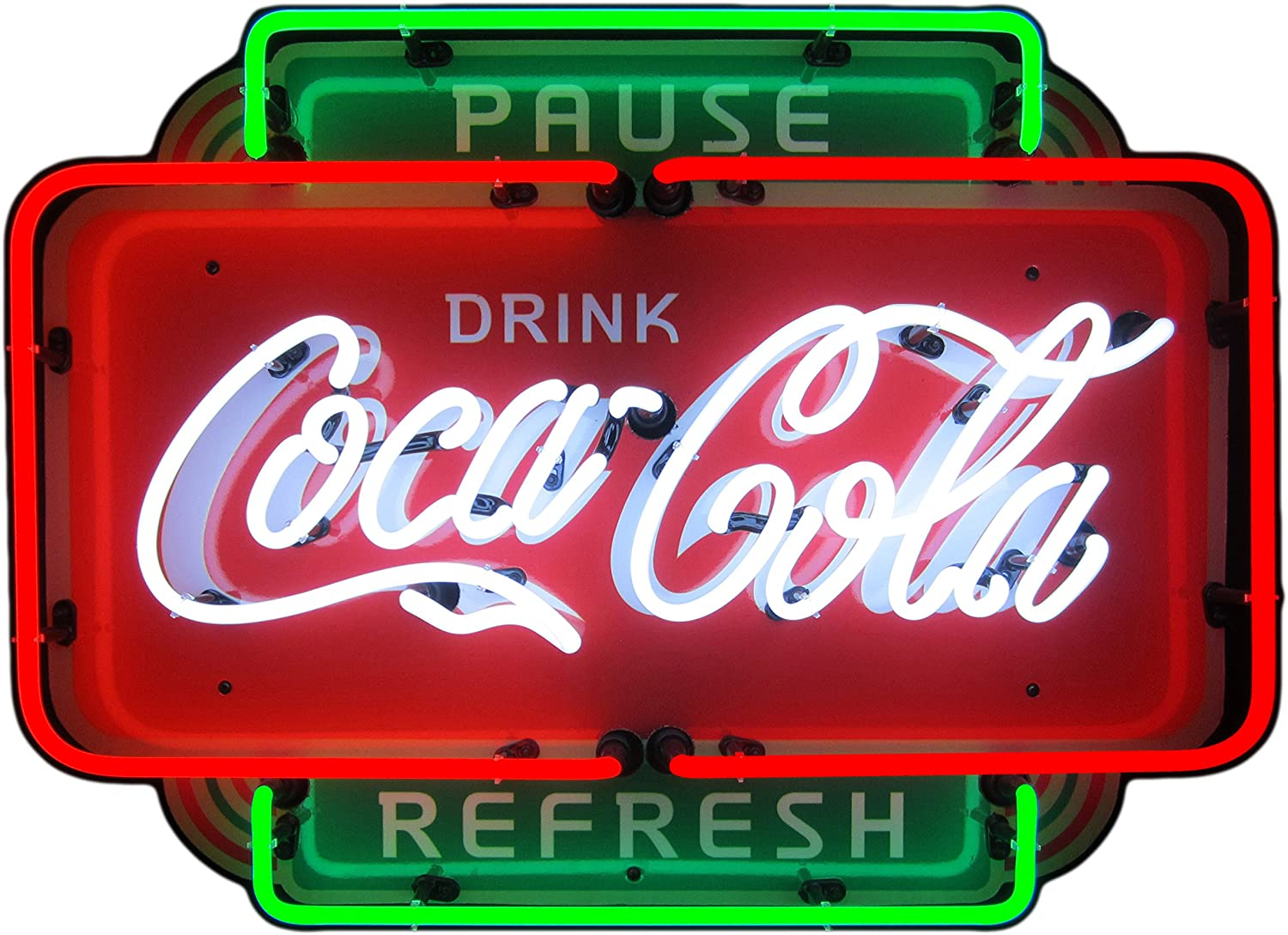 Coca-Cola Coke LED Sign Personalized Home bar pub Sign Lighted Sign