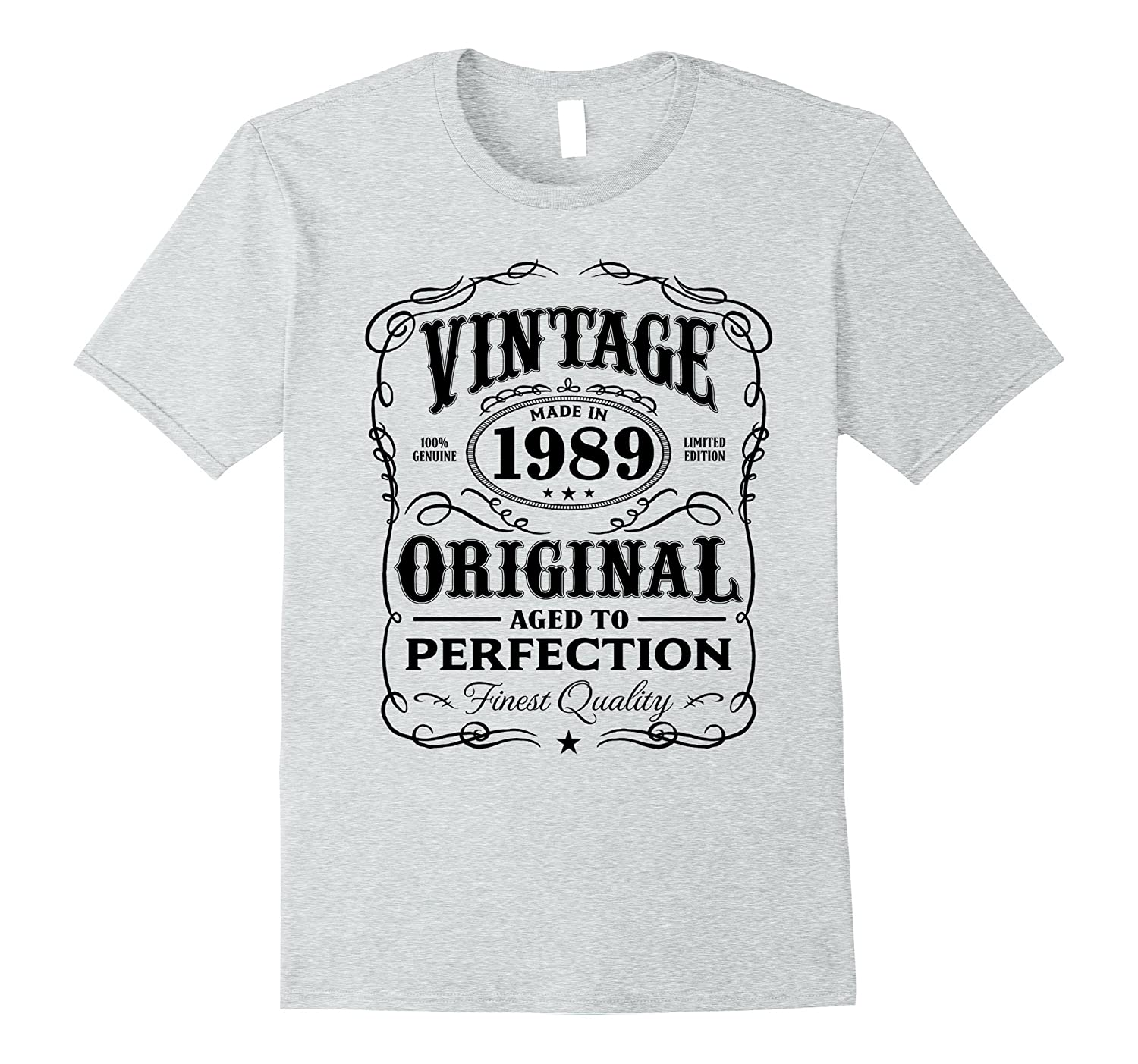 78c951886 Vintage Made In 1989 Birthday Gift T-Shirt-PL – Polozatee