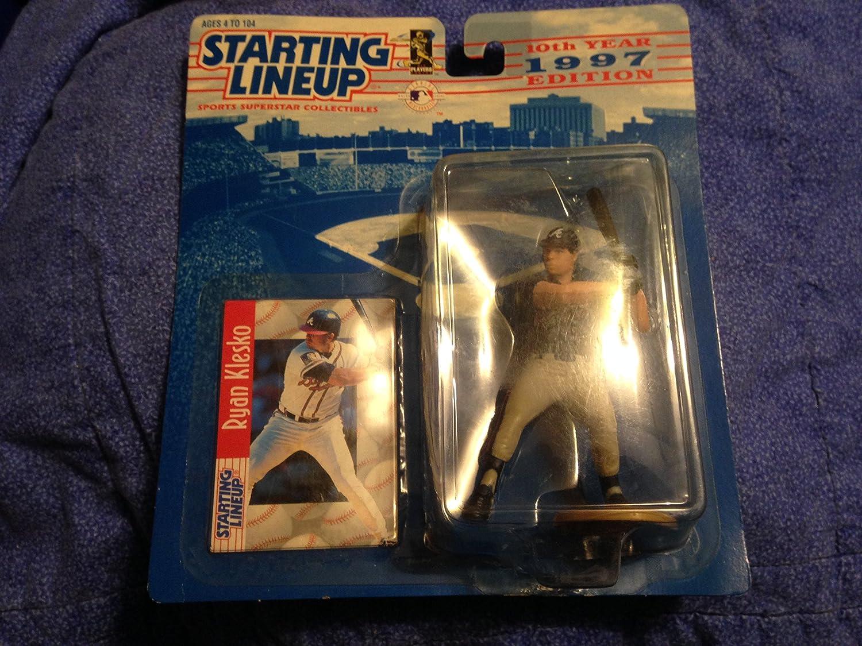 Ryan Klesko 1997 Edition Starting Lineup MLB Action Figure Hasbro Inc.