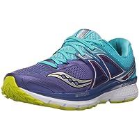 Saucony Women's Triumph ISO 3 Running Shoe, Purple, US