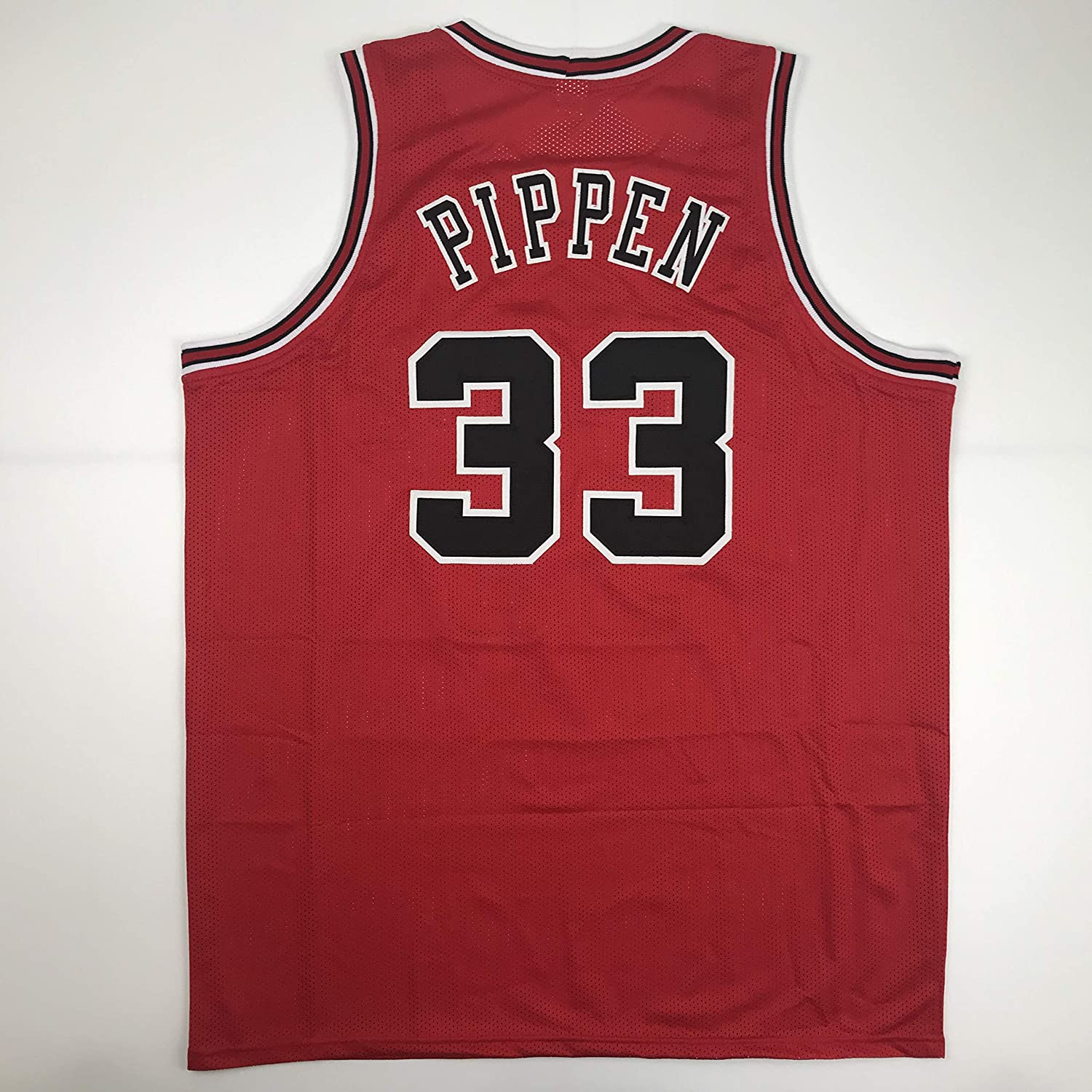 Unsigned Scottie Pippen Chicago Red Custom Stitched Basketball Jersey Size Men's XL New  - <strong>Scottie Pippen</strong>
