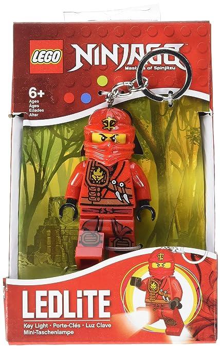 Amazon.com: LEGO Ninjago Luz Clave – Kai LED llavero ...