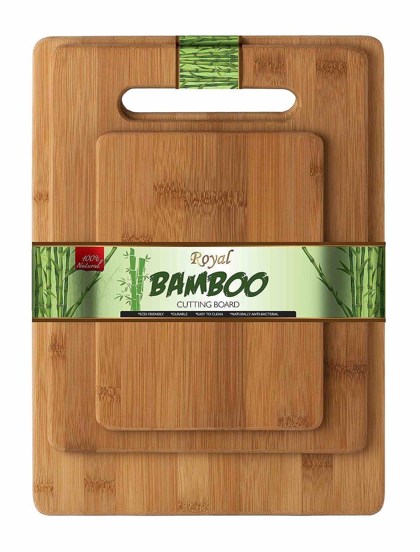 28x20cm Planche /à d/écouper Bambou Royal Bamboo 3 pi/èces 33x24cm 38x30cm ensemble
