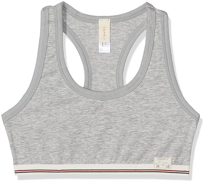 Esprit Bodywear 017ef5t023, Sujetador Niños, Gris (Medium Grey), 146 (Talla