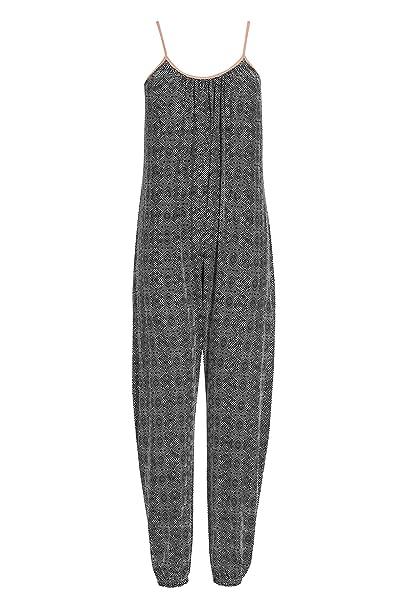 next Mujer Pijama Tipo Pelele Corte Regular Estampado geométrico monocromático XL Reg: Amazon.es: Ropa y accesorios