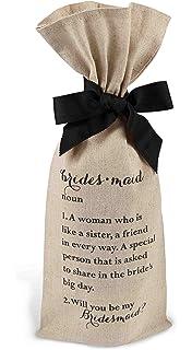 b791bbc2769d Amazon.com | ElegantPark 1 Maid of Honor Proposal + 5 Bridesmaid ...