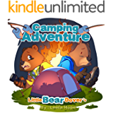 Books for Kids: Little Bear Dover's Camping Adventure (young children kids beginners books)