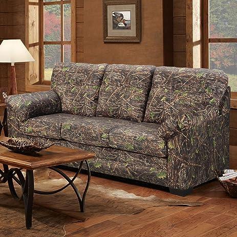 Amazon.com: American Furniture Classics Camouflage Sleeper Sofa ...
