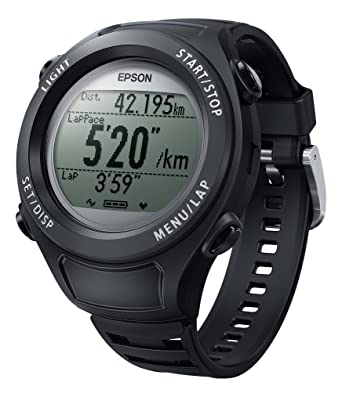 13832c3042 Amazon.co.jp: [エプソン リスタブルジーピーエス]EPSON Wristable GPS 腕時計 GPS機能付 SF-110B: 腕時計