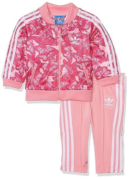 uk availability low price large discount adidas Kinder I B SST Trainingsanzug Rosa (Rossen/Rosfue ...
