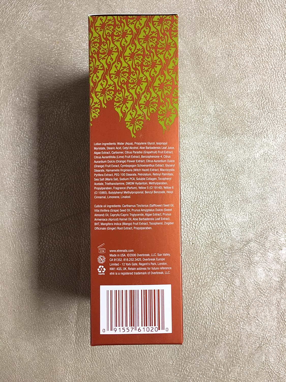 Amazon.com : Etre Natural Beauty Dead Sea Nail Care Kit Mandarin ...