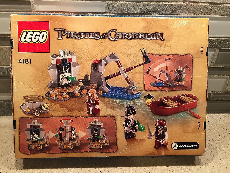 Lego Piratas del Caribe Isla de la Muerta - 152pcs.: Amazon.es: Juguetes y juegos