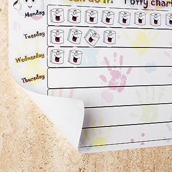potty training wall chart