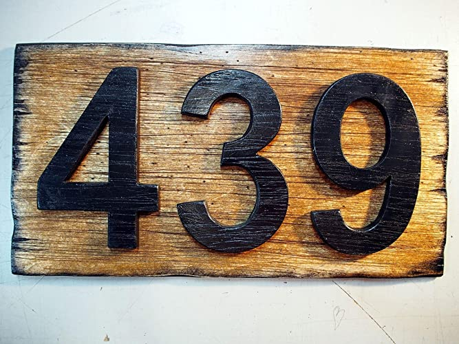 amazon com custom address plaque rustic house address signs