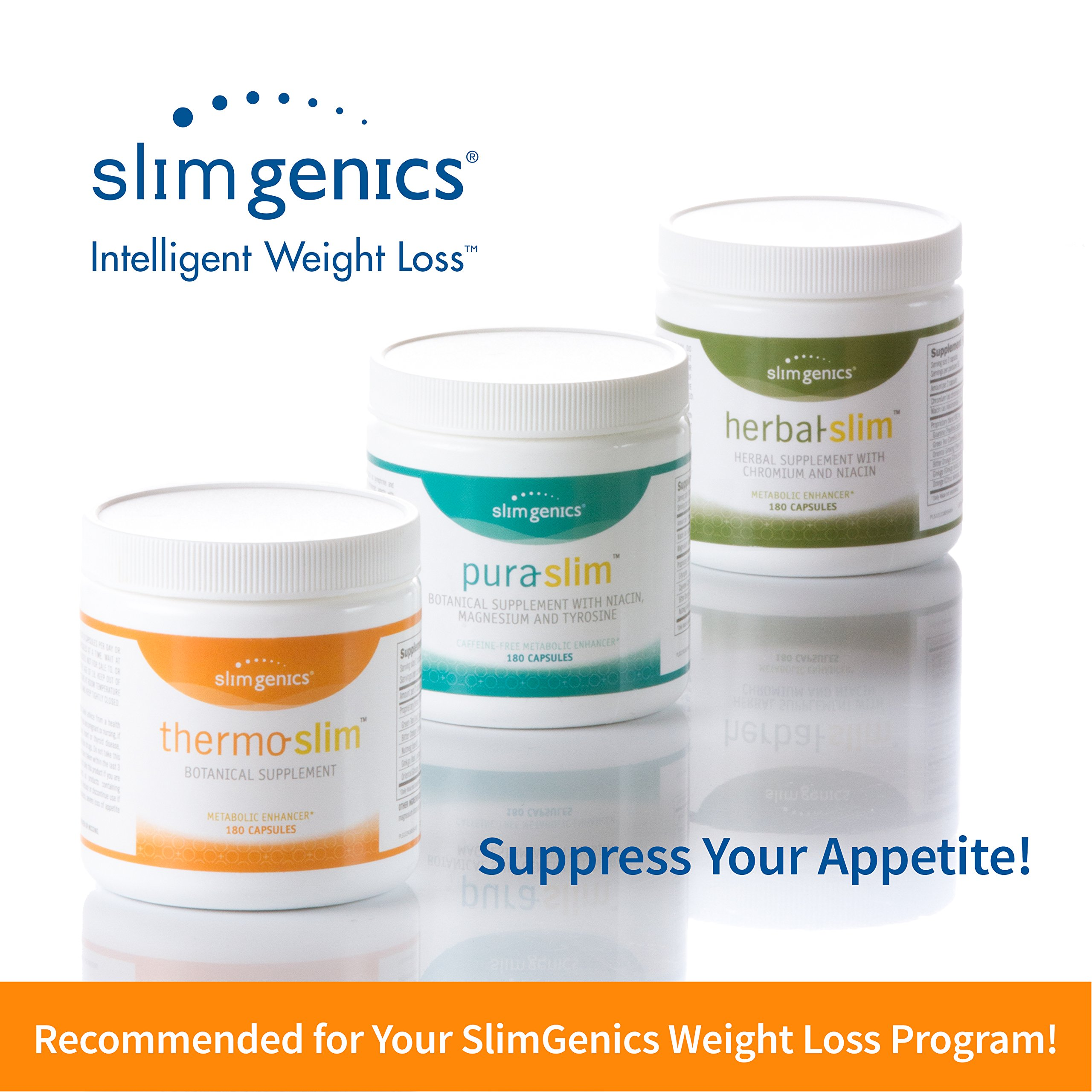 SlimGenics Pura-Slim | Metabolizer Herb – Metabolic Booster with Powerful Herbs and Nutrients, Thermogenic Fat Burners for Weight Loss, Fights Fatigue and Increases Energy (180 Count) by SlimGenics (Image #8)