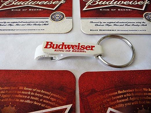 """Brand New! 5/"""" Long Budweiser Bottle Opener Bartender Key"""