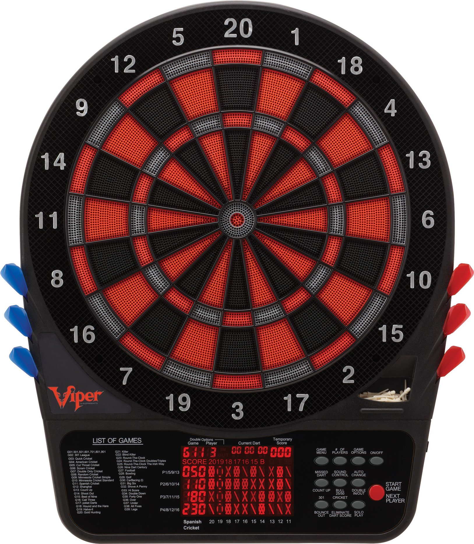 Viper 800 Electronic Soft Tip Dartboard by Viper (Image #1)