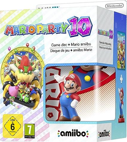 Wii U Mario Party 10 + Amiibo Mario [Bundle] - Limited Edition [Importación Italiana]: Amazon.es: Videojuegos