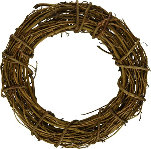 10-Inch Darice GPV10 Grapevine Wreath