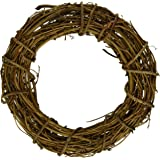 Bulk Buy: Darice DIY Crafts Grapevine Wreath Natural 8 inches (6-Pack) GPV8