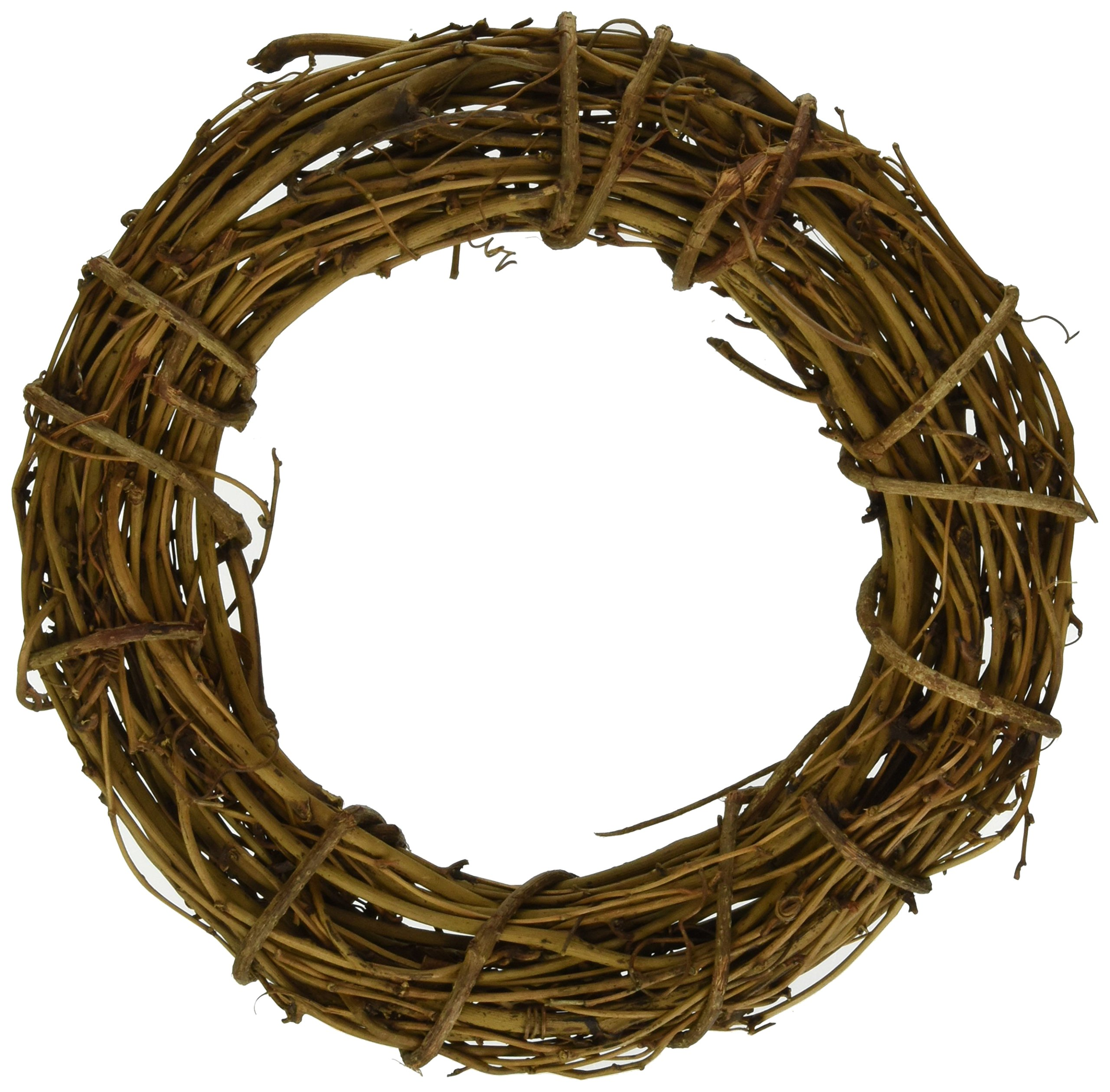 Darice Bulk Buy DIY Crafts Grapevine Wreath Natural 8 inches (6-Pack) GPV8 by Darice