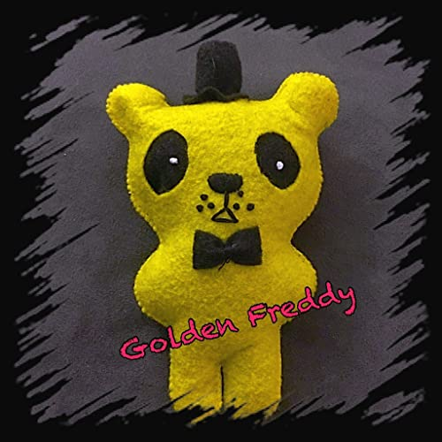 FNAF Golden Freddy Felt Plush