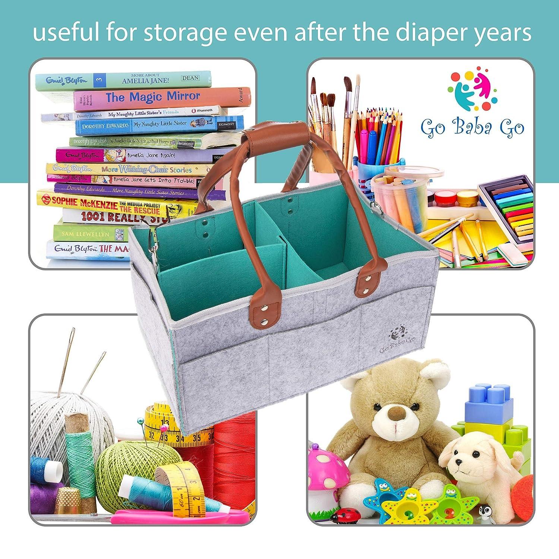 Amazon.com: Organizador para pañales de almacenamiento para ...