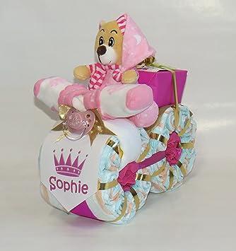 """pañales pañales para tartas – Moto """"Princesa Rosa"""