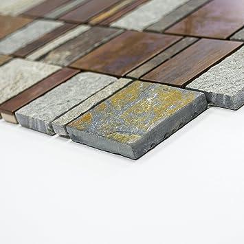 Mosaikfliese Fliesen Mosaik Kuche Bad Wc Wohnbereich Fliesenspiegel