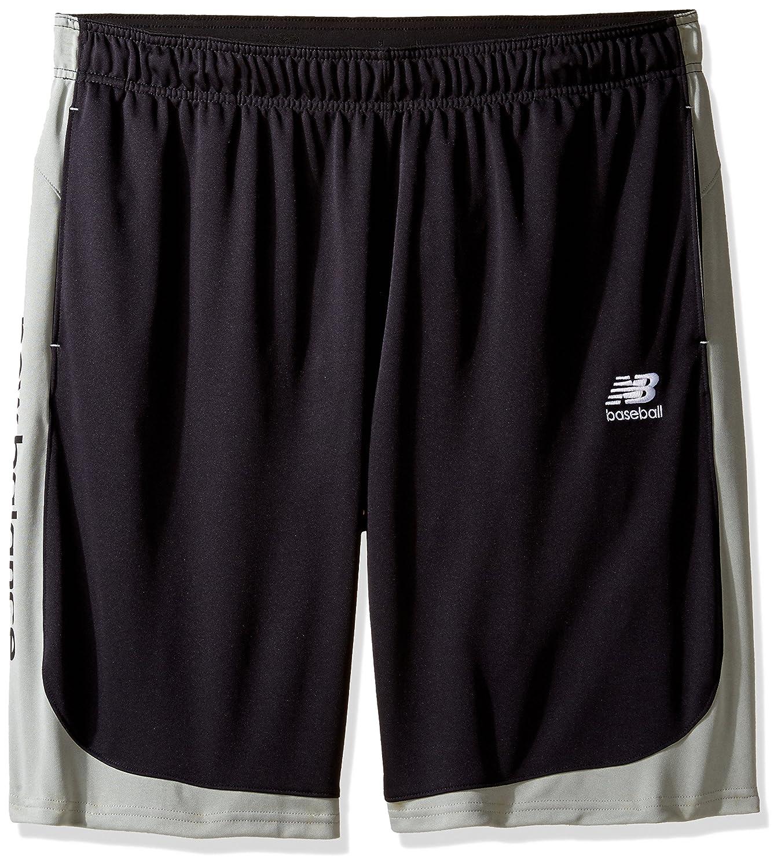 ニューバランス 男性用 ドライ 野球 トレーニング ショートパンツ B01GGJW98Y M ブラック ブラック M