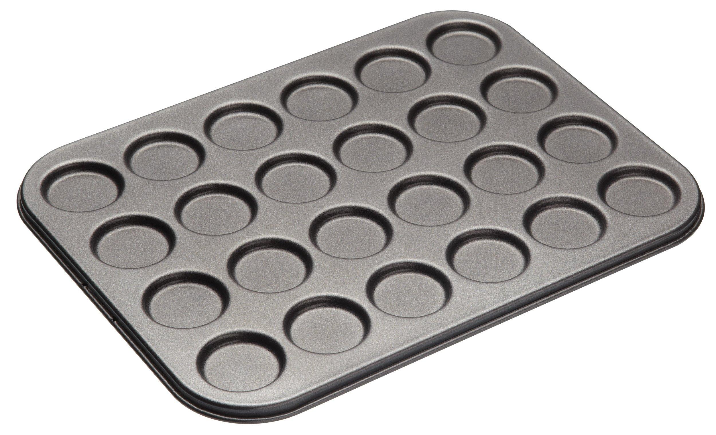 MasterClass Non Stick 24 Hole Whoopie Pie / Macaroon Pan, 13.75'' x 10.5''