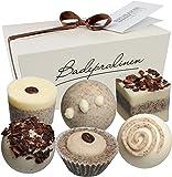 BRUBAKER Cosmetics Boules de bain - 6 Pièces - Coffret cadeau 'Pause-café' - Vegan
