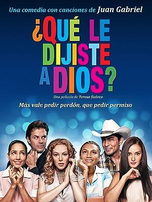 Amazon.com: Que Le Dijiste A Dios? (English Subtitled ...